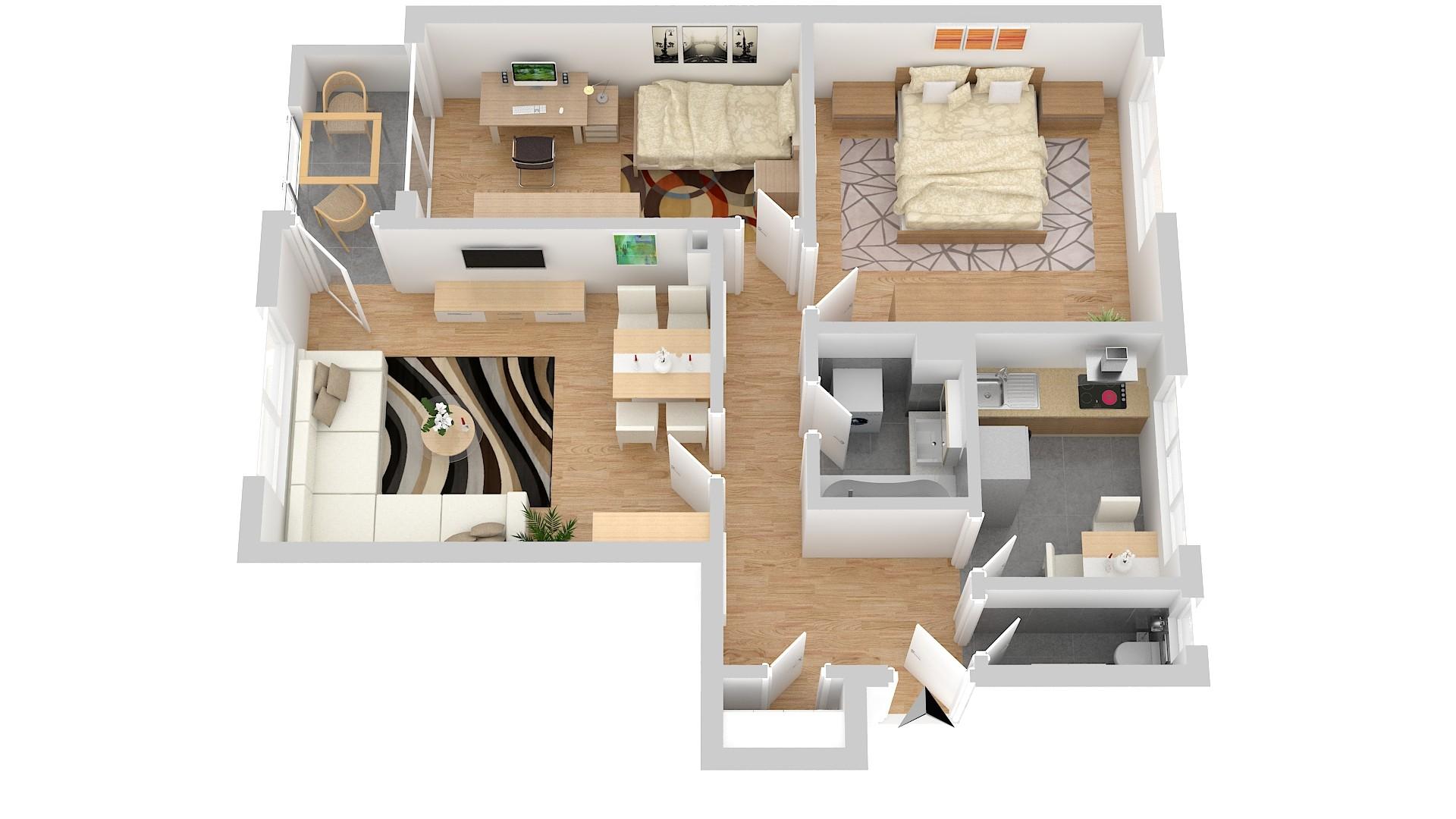 3-Zimmer Wohnung in München-Bogenhausen